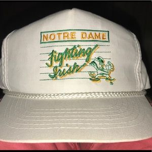 Vintage Notre Dame Fighting Irish hat
